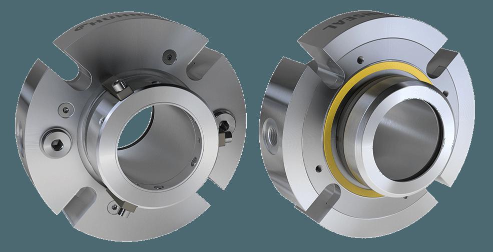 Heat resistant mechanical seals
