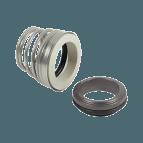 Selo mecânico com mola cônica e o-ring Simplex