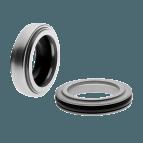 Selo mecânico compacto com fole de elastômero FA